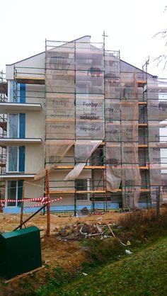 Grudzień 2014 - Budowa budynku C na Osiedlu Chabrowym w Gdańsku