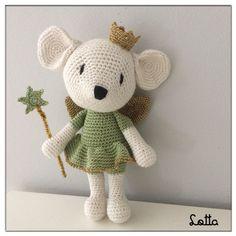Galna i Garn Baby Design, Crochet Dolls, Hello Kitty, Teddy Bear, Toys, Mice, Character, Animals, Blue Nails