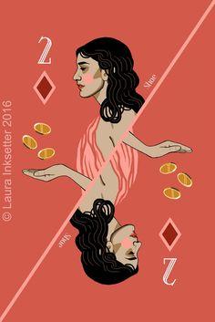 2 of Diamonds - Shae