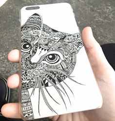 Bohemian Cat iPhone Case