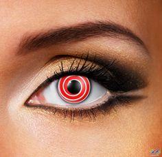 Red Spiral Eye Accessories (Pair)