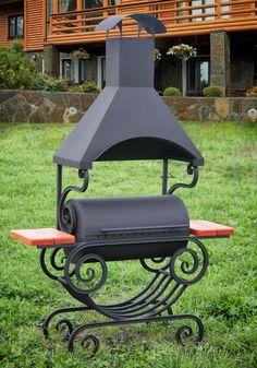 www. bbqlikeaboss.com fabriquer un barbecue de style ancien en métal, fer et bois massif