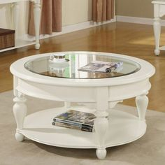 Found It At Wayfair   Essex Point Round Coffee Table In Shores White