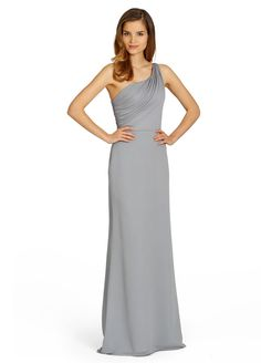 Like this style in blue for bridesmaids. JLM Couture StyleJH5378