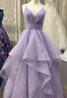 Shiny V Neck Purple Prom Dresses, Shiny V Neck Purple Formal Graduation Evening . - Shiny V Neck Purple Prom Dresses, Shiny V Neck Purple Formal Graduation Evening Dresses Pretty Prom Dresses, Hoco Dresses, Dance Dresses, Ball Dresses, Homecoming Dresses, Beautiful Dresses, Ball Gowns, Lavender Prom Dresses, Purple Prom Dresses