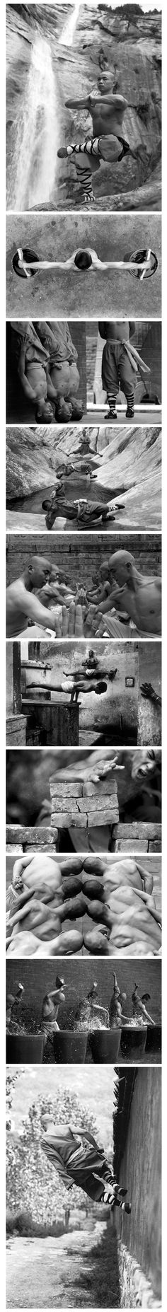 Shaolin Monks, mind over matter