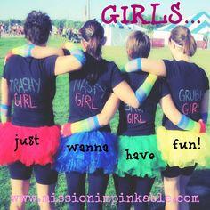 Dirty Girl 5k run