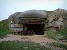 Batterie de Longues-sur-Mer - Batterie allemande : casemate
