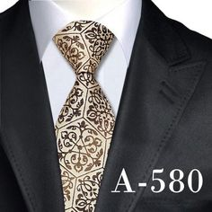 Novelty Mens Ties Neck ties Fashion Silk Ties for Men Business Wedding Suit Gravata Corbatas Sharp Dressed Man, Well Dressed Men, Mens Fashion Suits, Male Fashion, Fashion Tips, Tie Styles, Dapper Men, Tie And Pocket Square, Suit And Tie