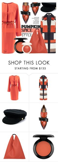 """""""Pumpkin Spiced with Black 2"""" by olga1402 on Polyvore featuring WtR, Dorothy Perkins, Manokhi, Marni, MM6 Maison Margiela and John Lewis"""