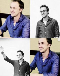 If I could just meet and perhaps receive a hug from Tom Felton for Christmas or my birthday......My Life Would Be Complete. That smile.........swoon. <3