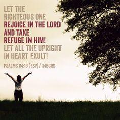 #Psalms 64:10 #ESV #MASDETIenmi #Verse #Bible #Word #God