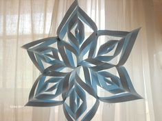Snowflake I made.