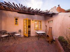 Santa Fe House Rental: Reposada - 1 Block To The Plaza! - In The Heart Of Downtown Santa Fe - Pets Ok!   HomeAway