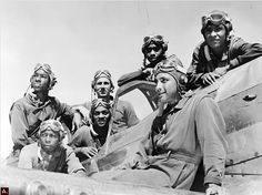 In 1945, Toni Frissell took more then 280 photographs of the Tuskegee Airmen.