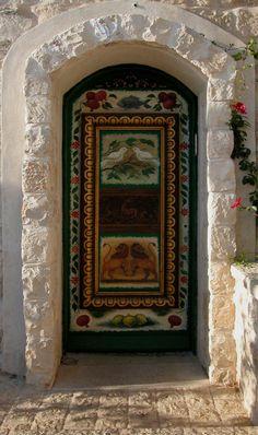 Safed, Israel door