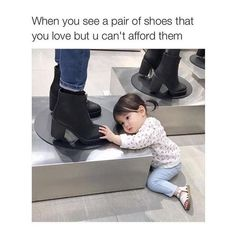When you see shoes you cant afford - funny meme - https://jokideo.com/when-you-see-shoes-you-cant-afford-funny-meme/