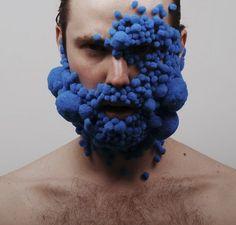 bubble face - experimentation