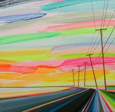 """Sunset on Long Beach""by Grant Haffner"