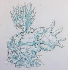 Dragon Ball Z, Dbz Drawings, Ball Drawing, Fantasy Concept Art, Z Arts, Anime Fantasy, Disney Art, Anime Art, Drawing Reference