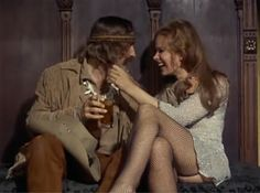 """Dennis Hopper and Karen Black in """"Easy Rider"""" Dennis Hopper Easy Rider, Captain America Bike, Karen Black, Think Before You Speak, Silent Film, Great Movies, Classic Hollywood, New Orleans, Actresses"""