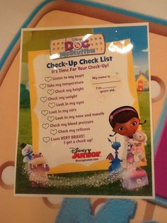 This lady has a whole board dedicated to a doc mcstuffins birthday party full of ideas. Pretty cool. Gotta have the checklist from online Disney Jr.