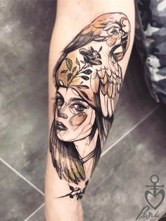 Illustration style forearm tattoo - 110 Awesome Forearm Tattoos