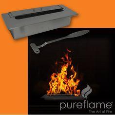 PureFlame 1710 Ml Burner Insert Fireplace   Wayfair