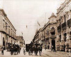 IMAGENES DE LA MORELIA DE AYER:  ANTIGUA VALLADOLID. DONDE SE INICIO EL MOVIMIENTO DE INDEPENDENCIA EN 1810.