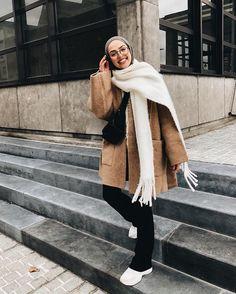 samia🌜🌞🌗 (@ except. Modern Hijab Fashion, Street Hijab Fashion, Muslim Fashion, Modest Fashion, Fashion Dresses, Hijab Casual, Hijab Chic, Modest Outfits, Casual Outfits