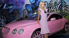 Paris Hilton's Pink Bentley