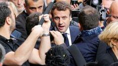 Macron condemns 'massive' hacking attack