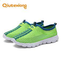 e20acd8cc1a QIUTEXIONG Niños Zapatos Verano Niños Zapatos Informales Niñas Zapatilla de  deporte Para Niños Zapatos de Malla