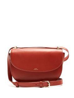 Genève leather cross-body bag  | A.P.C. | MATCHESFASHION.COM UK