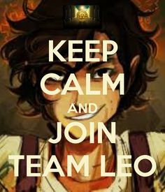 That's right people team Leo and his fangirl army really does exist cause I'm in both!!