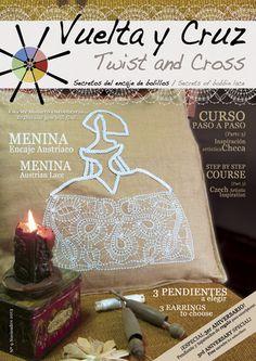 Vuelta y Cruz Nº9: Revista de bolillos / Twist and Cross N.9: Bobbin lace magazine (11€)