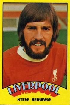1974-75 A&BC Gum #79 Steve Heighway Front