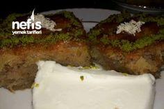 Kadayifli Revani (No Such Flavor) Recipe - tatlı muffin vegan muffin recipe muffin Food Service, Muffin Recipes, Meatloaf, Biscotti, Beef, Ethnic Recipes, Desserts, Sweet Potato, Besties