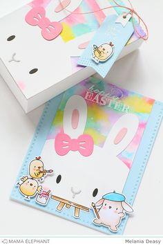 Hi everyone! Today I want to share my project for Mama Elephant featuring Favor Bag Accessory Bunny . This dies is so cute and versatile! I...