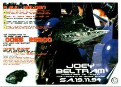 Star Wars : Saturday, 19 November 1994 Flyers, Sydney, Rave, November, Star Wars, Movie Posters, Raves, November Born, Ruffles