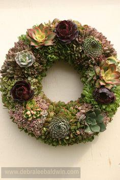 Margee Rader Living Wreath - Photo by Debra Lee Baldwin