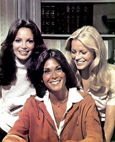 The famous and charismatic detectives of Charlie's Angels, season, tv show; Kate Jackson, Jaclyn Smith and Cheryl Ladd Jaclyn Smith Charlie's Angels, Charlies Angels Movie, Jacklyn Smith, Good Morning Angel, Kate Jackson, Bionic Woman, Cheryl Ladd, Farrah Fawcett, Best Tv