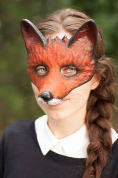 Die schlaue Fuchs-Maske gemacht Fancy Dress Tiermaske Maske