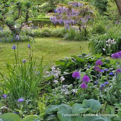 50 Brilliant Front Garden and Landscaping Projects You'll Love - The Trending House Meadow Garden, Garden Cottage, Dream Garden, Back Gardens, Outdoor Gardens, Bonsai Garden, Rooftop Garden, Front Yard Landscaping, Winter Garden