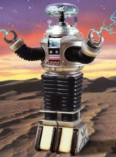 Robot of LOST IN SPACE. Loved the robot. Hated the show.