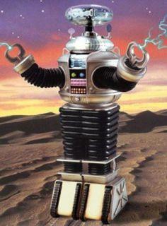 Peligro, peligro. El Robot de Perdidos en el Espacio.