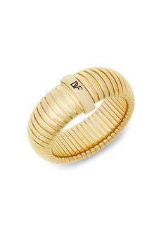 DVF Large Snake Chain Bangle Bracelet