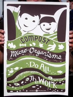 Victory Garden of Tomorrow Print - Compost
