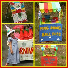 Carnival - these are cute and look easy.  We could dress them up.