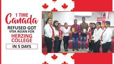 1 Time Canada refused got visa again for Herzing College Best University, Congratulations, How To Apply, Canada, College, Student, Education, University, Teaching